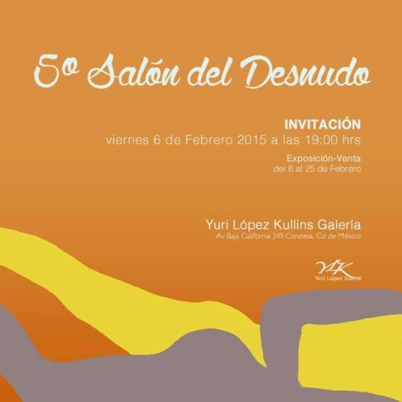 Invitación Desnudo